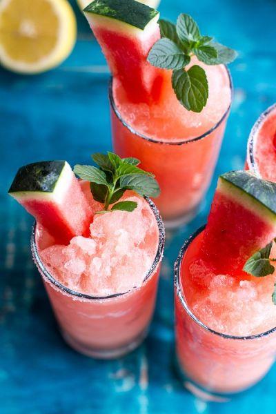 chanelbagsandcigarettedrags:  Pink Watermelon Lemon Slushies