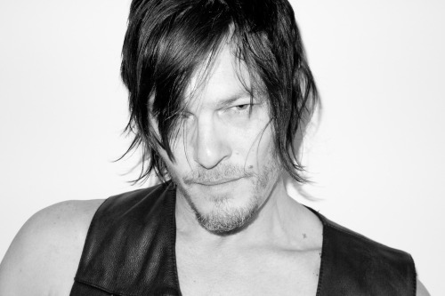 terrysdiary:  Norman Reedus at my studio #11