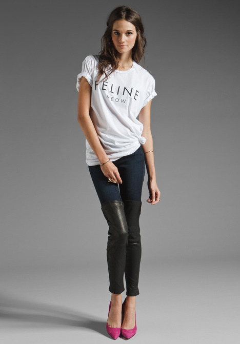 what-do-i-wear:  BRIAN LICHTENBERG // Feline Tee