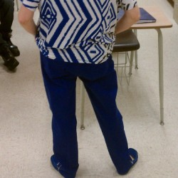 Oooooh peep then shoes tho… Day two of tge swagged out Mrs. Schwartz…. Stay tuned for tomorrows outfit :D #monday #schwartz #swag #thuglife #blue #fashion #model #highschool #gangsta #fresh #cool #funny #monday #school #spring #smooth