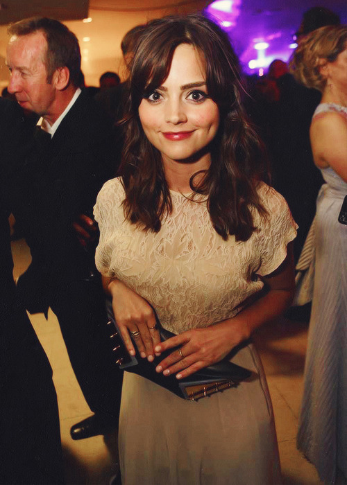 Jenna-Louise Coleman at the BAFTA Television Awards after party.