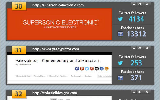 supersonicelectronic:  Top 100 Art Blogs to Follow. A big thank you to the folks over at Coupon Audit for putting me at #30 on their list of Art Blogs to follow!  Check out the full list here.  Top 100 Art Blogs to Follow