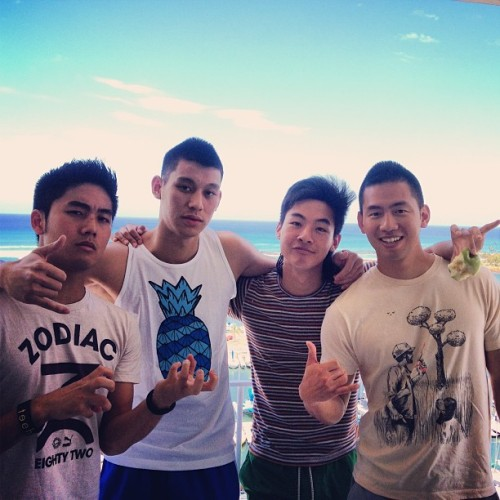 andreakate:  @kevjumba: We're fruits.