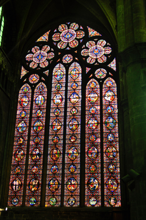 Stained Glass to the Heavens - Dinant, Belgium