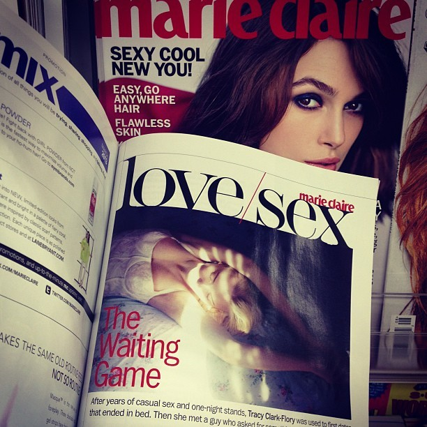 I've got a piece in the March issue of Marie Claire. Check it out!