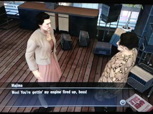 experimentkyrii:  IM FUCKING CRYING DAIGO IN A DRESS A nd then majima saying his engines are fired up GOODBYE  This scene was worth Dead Souls being made.