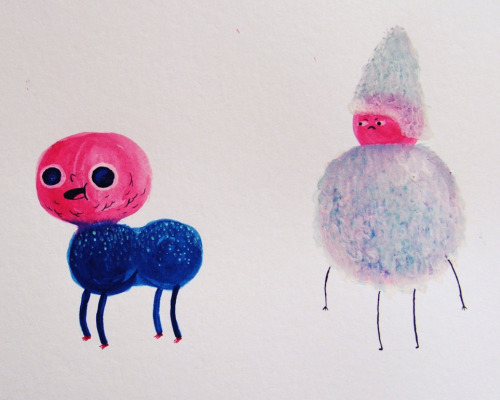 two little paint doodles.