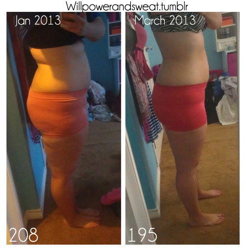 before-and-after-pictures:  2 months progress! —- ~ before and afters every day ~