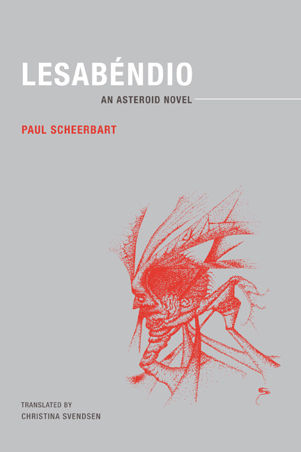 """[Paul] Scheerbart's book bears the subtitle An Asteroid Novel, and all of its action takes place far from Earth. Not a single human character appears in the story; nor do its protagonists resemble the anthropomorphized aliens of so much science fiction. Rather, Scheerbart populates the asteroid Pallas with a race of newt-like creatures who are capable, when provoked, of expanding their bodies to several times their normal size. Moreover, the Pallasians have eyes that extend on stalks and function as telescopes or microscopes (the latter for reading micro-books: the Pallasians wear, as personal adornment, entire libraries around their necks)."""