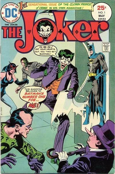 DC Comics' The Joker. Issue 1, 1975.