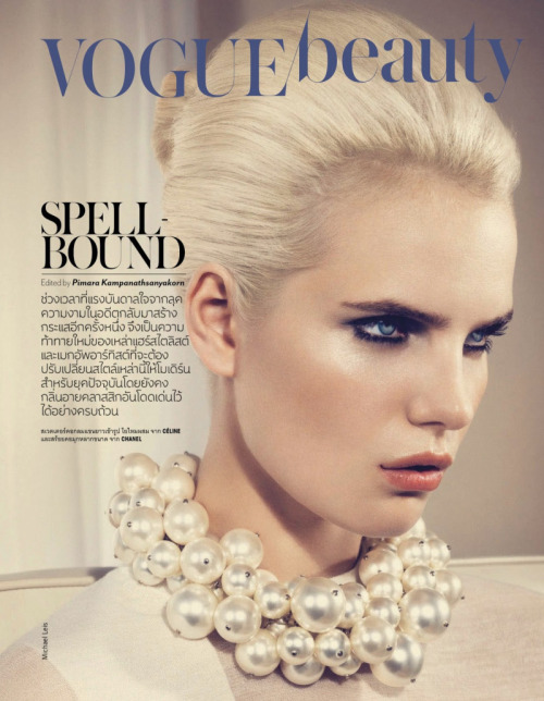 Anmari Botha for Vogue Thailand May 2013Ph. Michael Leis