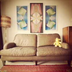 Sit Back! #retro #interior #architecture #artist #art #vintage #midcentury #design #bear #love  (at Rosebery Avenue)