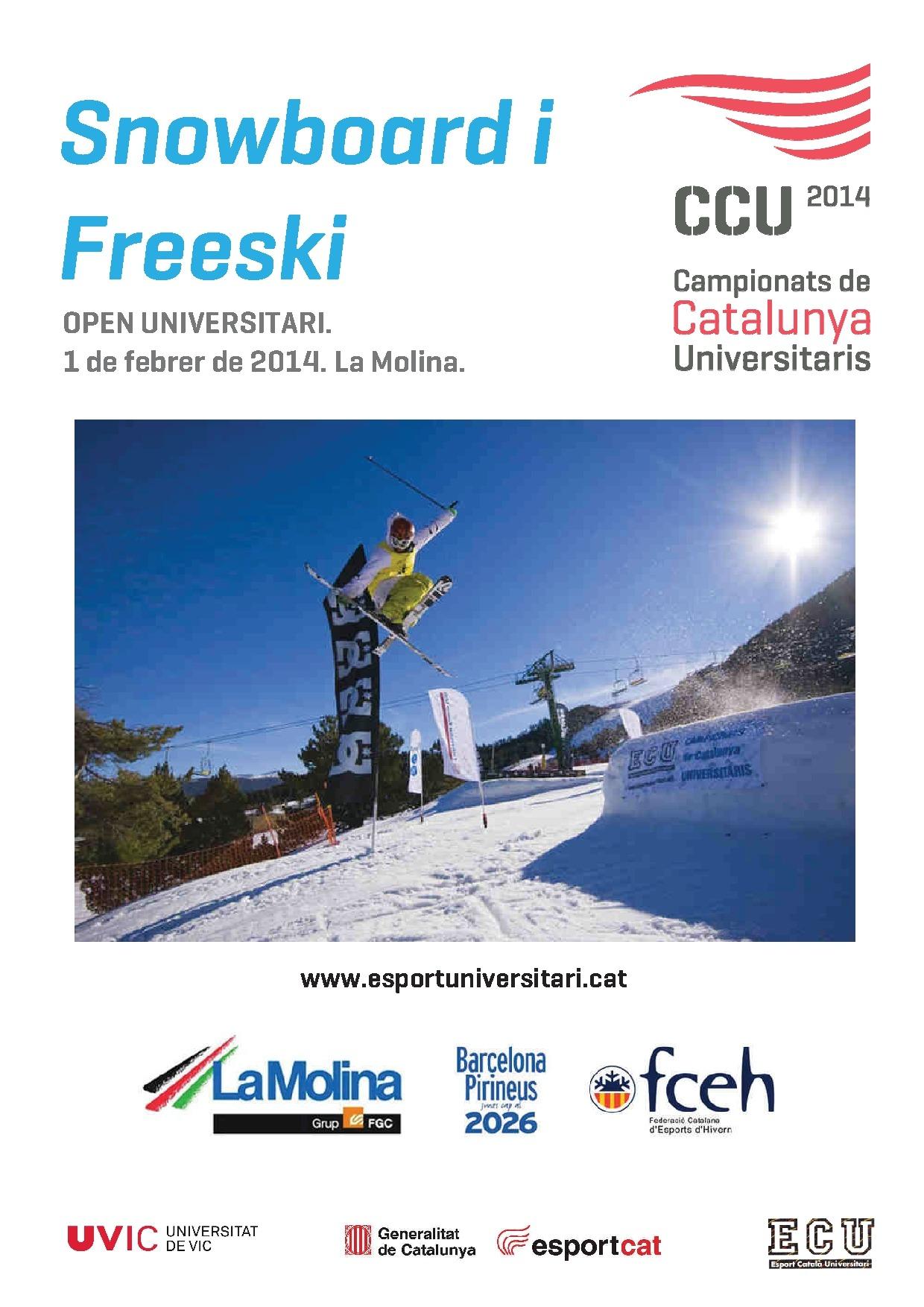 CCU Campionat de Catalunya Universitaris 2014