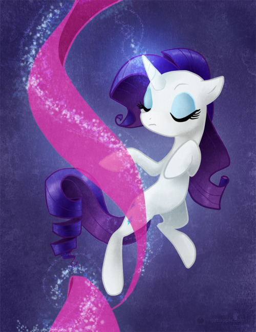 Rarity is attempting to inspire me to get all of my work done. Pony con this weekend, gotta finish the paintings for that… and commissions.. and finish the vector for the CFZ tshirt that is due like two days ago… AHHHHH wish me luck!