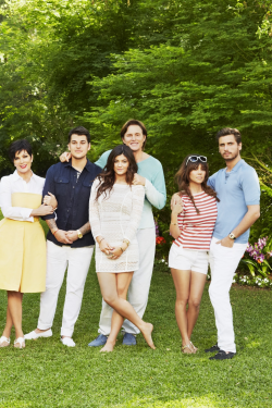 Keeping Up With The Kardashians Season 8 Promotional Photo Shoot.