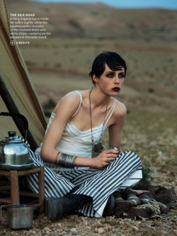 Vogue US June 2013 Model: Edie Campbell