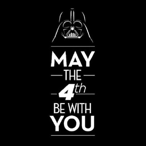 Happy Star Wars day, folks!