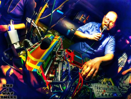 Dan Deacon at the Kimmel Center in Philly. The rest of the set can be found here:http://butiwasthere.com/2013/04/19/dan-deacon/