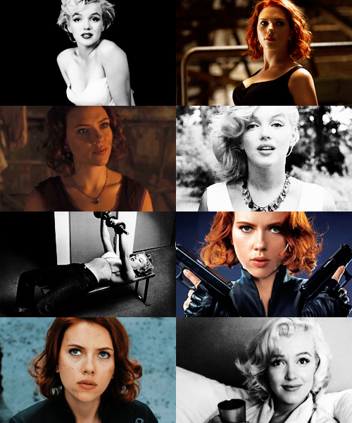 boombangbing:  Recasting the Avengers as a classic movie → Marilyn Monroe as Natasha Romanoff (This recast inhabits an alternate universe where all the actors are the right ages at the same time.) I'M REALLY PROUD OF THIS ONE, BY THE WAY.