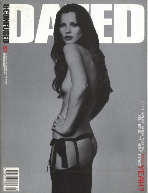modelsdot:  Dazed & Confused: It's Great When You're Kate Feb 1999