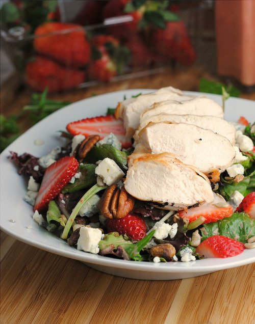 fattributes:  Strawberry Chicken Salad with Strawberry Vinaigrette