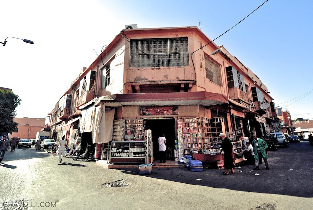 Cornershop in the Medina