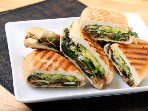 veganrecipecollection:  (via Mexican Mushroom and Spinach Sandwich (Vegan Torta) | Serious Eats : Recipes)