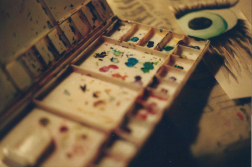 wildstag:  watercolors. by ah! guh-ness., on Flickr.
