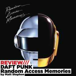 "hitsvilleuk:  Since 1997, Daft Punk have been a monolith in dance music. Even those with only a vague interest in music will know their name, and everyone knows the vocoded splendour of ""One More Time"", Around The World and countless other Daft Punk game-changers. Silent in the music media stretching back even to around the time of 2010's Tron: Legacy soundtrack, Daft Punk have been incubating the seminal electronic music album.    It's early days to call this a masterpiece, but on first, second, and third listens Random Access Memories evokes enough enthusiasm in me to use the word. Album opener ""Give Life Back To Music"" begins the journey not unlike David Bowie's Starman, with rising guitars and pianos but soon drops off into a smooth trademark Daft Punk jam. Vocoded vocals are one of the staples of this album - unlike previous Daft Punk records where they played a bit part - Daft Punk are singing on almost every song on this record. Nile Rodgers' guitar influence on this track and most others is unmistakable and absolutley crucial to capturing the sound of disco that Daft Punk have been so notoriously trying to capture on this album. Give Life Back To Music sets an early precedent and the album never fails to meet or exceed that precedent. Melancholy vocoders wobble over the rainy Game of Love, punctuated by electric jazz pianos and a rumbling bassline.  ""Giorgio By Moroder"" is the first of several musical peaks that the album has, an odyssey of dance and disco music narrated by electronic pioneer Giorgio Moroder. At the song's crescendo, live drums and soaring strings are the centrepiece before it busts right back into vintage synth arpeggios. Within props itself gently between Giorgio and the awesome ""Instant Crush"" which takes cue from the Strokes and has a distinctly Strokes feel to it, though Julian Casablancas' vocals are vocoded and the music is largely synth and bass. ""Lose Yourself To Dance"" is the second of three Nile Rodgers collaborations and Rodgers' impact is felt most fondly on this track, as Rodgers' guitar and Pharrell Williams' vocals bounce off of each other. ""Touch"" is a briefly jarring track as former Carpenter Paul Williams takes up vocal duties for a track which halves the album perfectly, switching from strictly disco and electronic influences to an Elton John-esque piano break and children's choirs covering the length of the song. Daft Punk have made a very clear statement on Touch as with the rest of the album: their vision for making music isn't at the mercy of anyone's prejudice. Daft Punk have made a record that is an album in the same way that Pink Floyd's Dark Side Of The Moon is an album - start to finish, the album doesn't break stride covering a plethora of influences and ambitions.  The second half of the album is a fitting partner to the first, with ""Beyond"" capturing the sound of the 80s with another smooth jam, a little bit soft rock, but still not far from ""Digital Love"" or ""Something About Us"", where ""Doin' It Right"" matches Daft Punk's original minimalism and teams up with Animal Collective's Panda Bear for something new. ""Contact"" is an album closer to close all album closers. Daft Punk have done something really special on Random Access Memories and I'm not sure what it is, but 2013 is now officially the Year of the Robot. ★★★★★★★★★★"