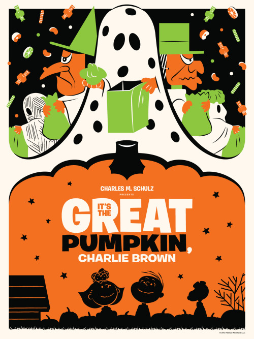 Sweet poster for It's The Great Pumpkin, Charlie Brown