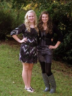 Flashback to senior year and homecoming with my best friend, Marianne.  We don't go to school together anymore, but i still get to see her as much as possible and working. We got to have dinner together Saturday night and ended up staying in her car catching up and talking about life until 2 am…so blessed and so thankful to have someone to share everything with and without judgment! LOVE HER!