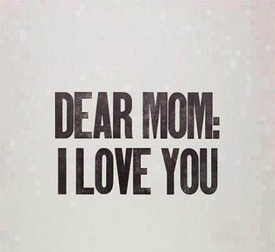 For my both Moms… <3