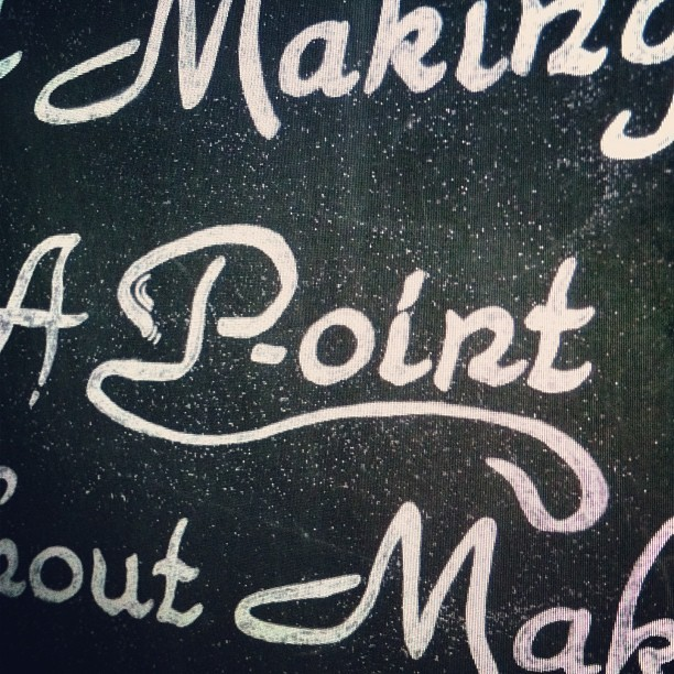 A p-oint is always a good place to start… isn't it? @POINT_magazine #WIP #lettering