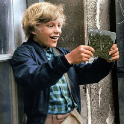 wanderingsadness:  Charlie and the Cannabis Factory. #willywonka #charlieandthechocolatefactory #weed #420 #nomnomnom
