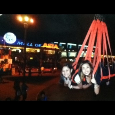 #gala gala din pag my time :) #zipline#enjoy#thesispartner#moa