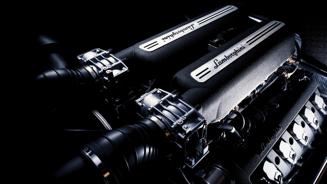 Lamborghini engine on hd wallpapers