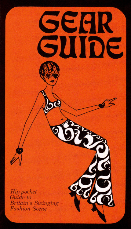 sweetjanespopboutique:  Gear Guide 1967: Who's Who in Carnaby Street & King's Road etc. By David Johnson and Roger Dunkley, drawings and design by Julia Stone. Image scanned by Sweet Jane.
