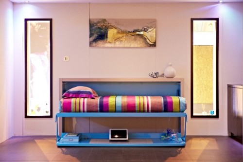 homedesigning:  (via Big Design in a Small Space)
