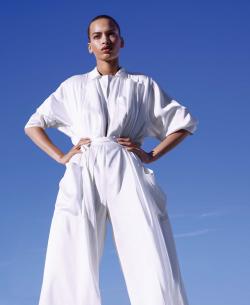 wearesodroee:  Shape ShiftersPublication: Harper's Bazaar US March 2018Model: Nisaa PounceyPhotographer: Camilla AkransFashion Editor: Patrick MackieHair: Ali PirzadehMake Up: Wendy Rowe