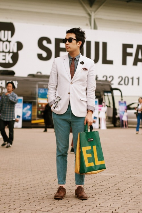 urbanemenswear:  Fantastic spring colors and fabrics