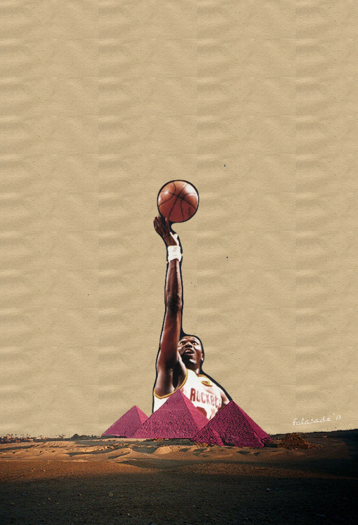 "artbyfola:  ""HAKEEM OLAJUWON 