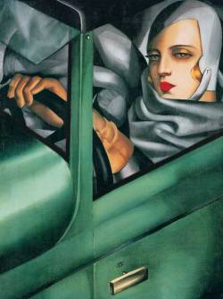 tastefultasteful:  You've got to love Tamara Lempicka's work.  <3