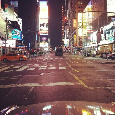 Night Drive….. (at Times Square)