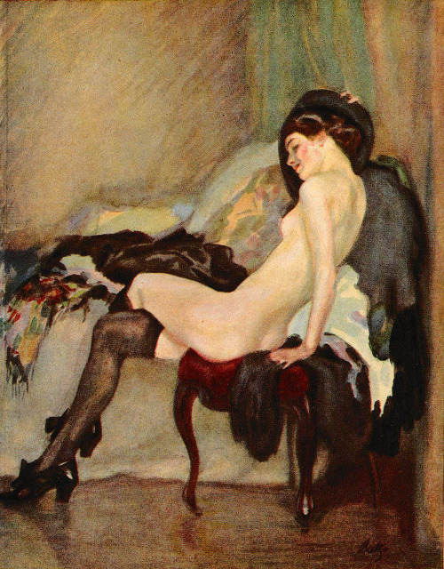 Days of Youth, Paul Rieth, Jugend magazine, 1912. Via.
