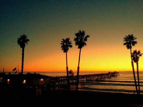 Best Coast. San Clemente, California San Clemente Island in background Photograph by C.N. O'Mahony