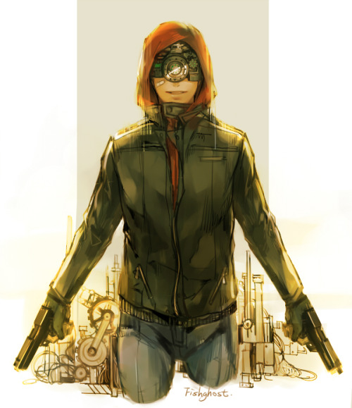 super-ny:  red hood by ~fish-ghost Jason Todd during The Lost Days