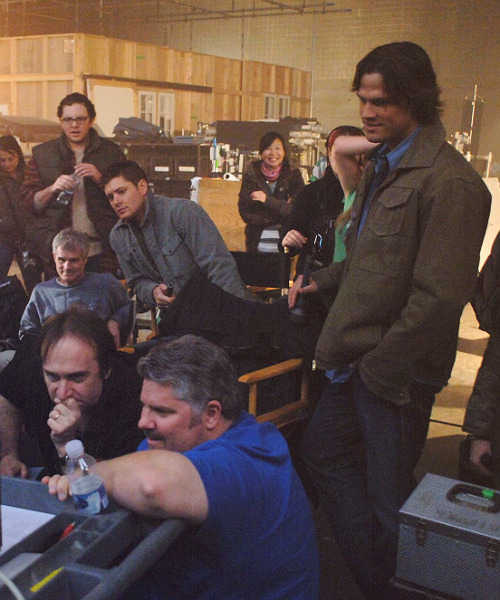 75/100 pics of Supernatural - Behind the Scenes