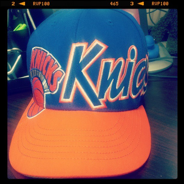 Yeah I'm ready for my game tonight. So what its only 10am. My Knicks are ballin' baby!