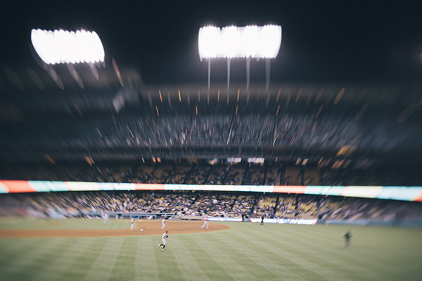 Dodger Stadium. Los Angeles, California. 2012.