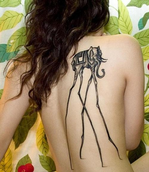best-tattoos:  salvador dali tattoo